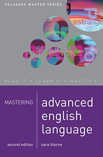 9781403994837: Mastering Advanced English Language [Lingua inglese]