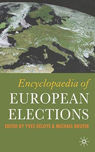 9781403994844: Encyclopaedia of European Elections