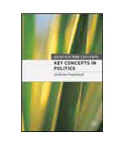 9781403994981: Key Concepts In Politics