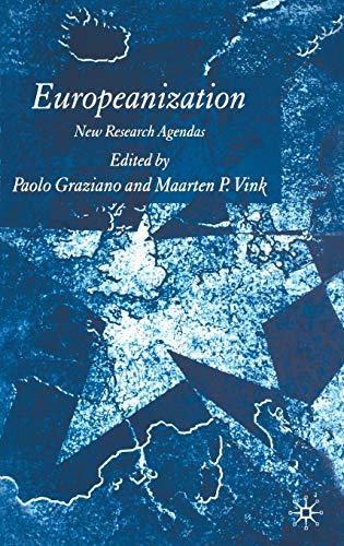 9781403995353: Europeanization: New Research Agendas