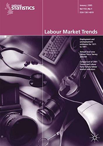 9781403995537: Labour Market Trends: August 2005 v. 113, No. 8