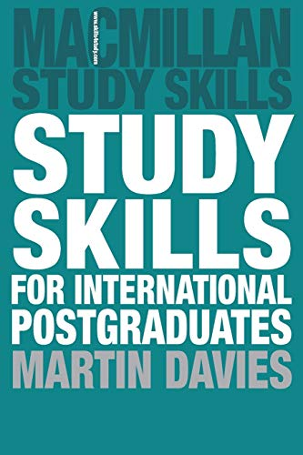 9781403995803: Study Skills for International Postgraduates (Palgrave Study Skills)