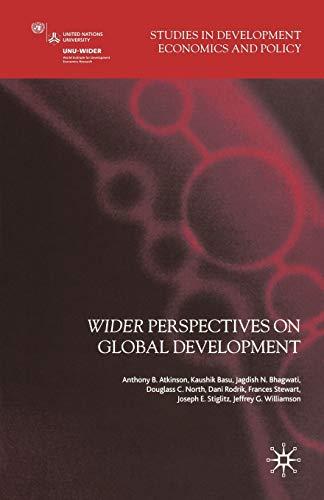 Wider Perspectives on Global Development: Palgrave Macmillan Staff;