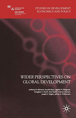 9781403996312: Wider Perspectives on Global Development (Studies in Development Economics and Policy)