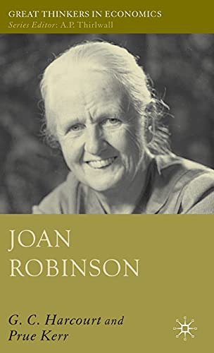 9781403996404: Joan Robinson (Great Thinkers in Economics)