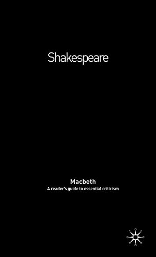 """9781403999245: """"Macbeth"""" (Readers' Guides to Essential Criticism)"""