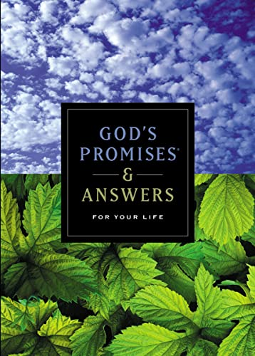 God's Promises & Answers for Your Life (9781404103214) by Not Available