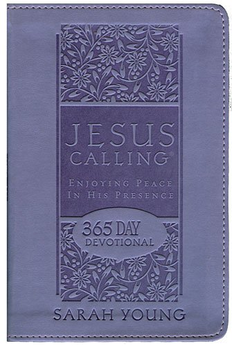 9781404114159: CU JESUS CALLING - Purple Leathersoft: Enjoying Peace in His Presence