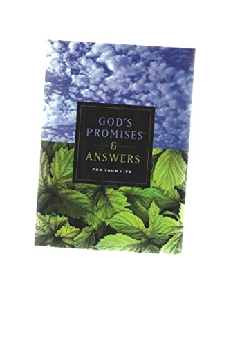 9781404174559: God's Promises & Answers for Your Life