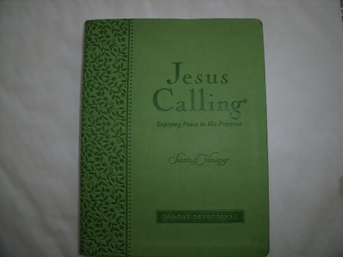 9781404183711: Jesus Calling Deluxe Edition (Large Print) Green Leather