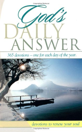 God's Daily Answer: 365 Daily Devotional (1404184694) by Elm Hill Books