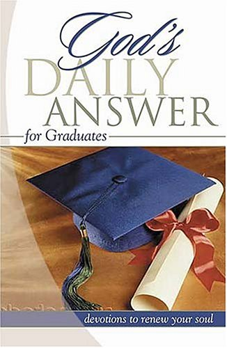 God's Daily Answer for Graduates (1404184791) by Elm Hill Books