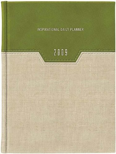 9781404187023: 2009 Inspirational Daily Planner (Green Linen) (Everyday Wisdom)
