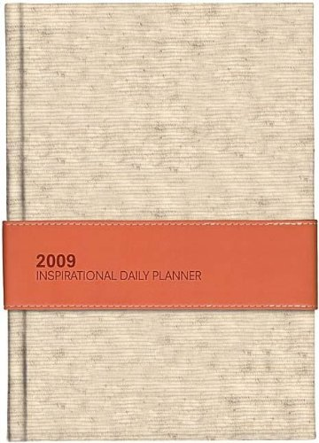 9781404187054: 2009 Inspirational Daily Planner (Orange Linen)