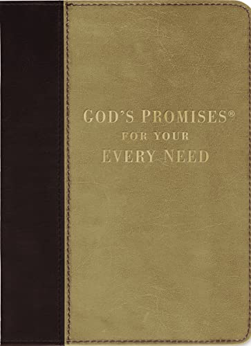 9781404187085: God's Promises for Your Every Need, Deluxe Edition: NKJV