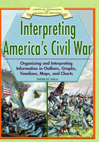 9781404204157: Interpreting America's Civil War: Organizing And Interpreting Information In Outlines, Graphs, Timelines, Maps, And Charts (CRITICAL THINKING IN AMERICAN HISTORY)