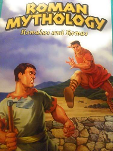 9781404223400: Roman Mythology: Romulus and Remus (JR. Graphic Mythologies)