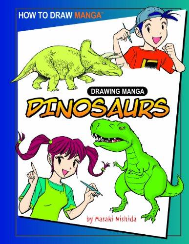 9781404238459: Drawing Manga Dinosaurs (How to Draw Manga)