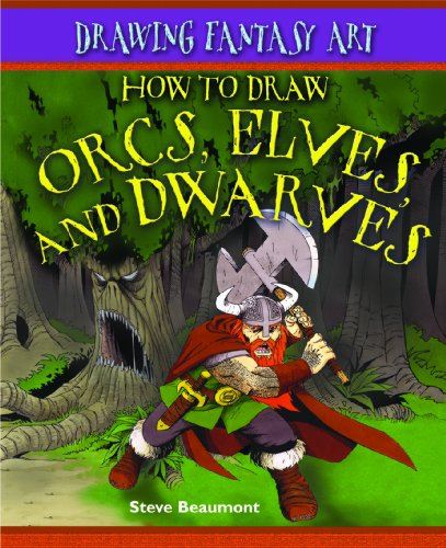 9781404238596: How to Draw Orcs, Elves, and Dwarves (Drawing Fantasy Art)
