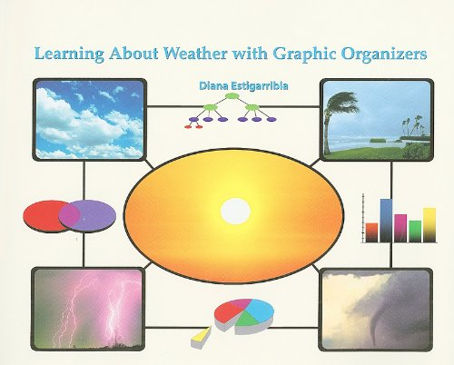 9781404250369: Learning about Weather with Graphic Organizers (Graphic Organizers in Science)