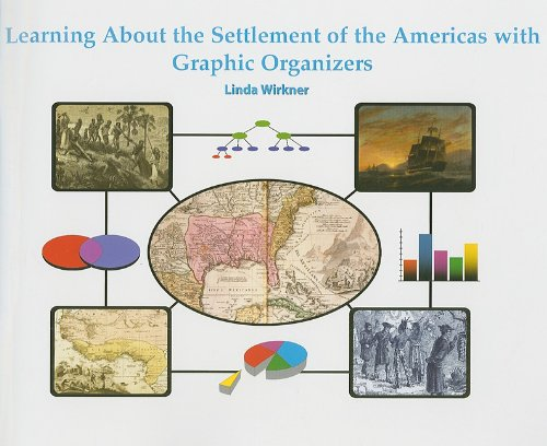 9781404250574: Learning About the Settlement of the Americas with Graphic Organizers (Graphic Organizers in Social Studies and Science)