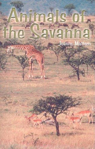 9781404254213: Animals of the Savanna (Rosen Science)