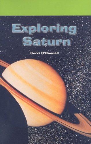 Exploring Saturn (Rosen Science): O'Donnell, Kerri