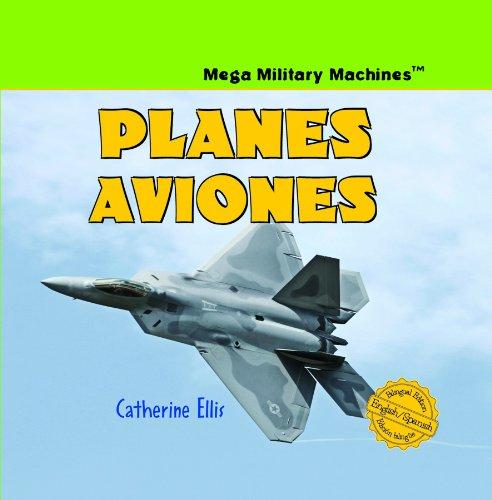 9781404276222: Planes/Aviones (Mega Military Machines / Megamaquinas Militares)