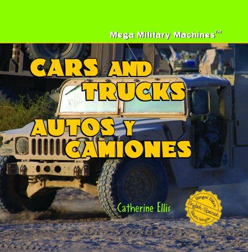 9781404276246: Cars and Trucks/ Autos y Camiones (Mega Military Machines / Megamaquinas Militares) (English and Spanish Edition)
