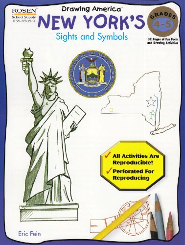 9781404285057: New Yorks Sights & Symbols (Drawing America)