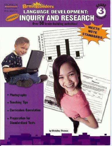 9781404285279: 3rd Grade-Language Development: Inquiry and Research (Rosen Brain Builders)