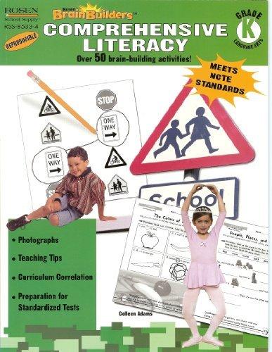9781404285330: Kindergarten-Comprehensive Literacy (Rosen Brain Builders)