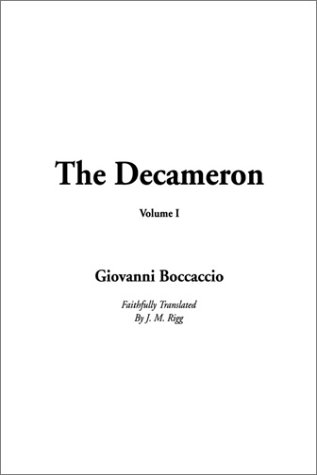 9781404301306: Decameron, The: Volume I