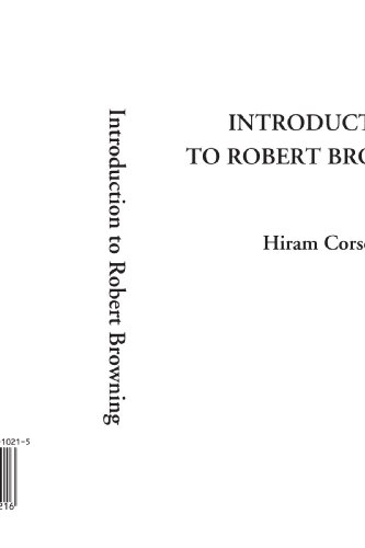 9781404310216: Introduction to Robert Browning