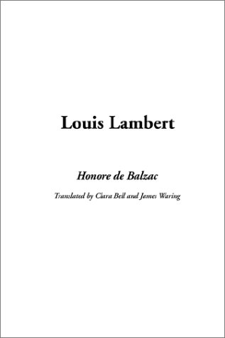 9781404314429: Louis Lambert
