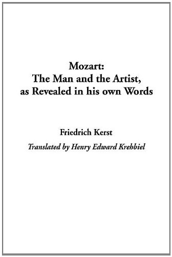 9781404319202: Mozart: The Man and the Artist, As Revealed in His Own Words