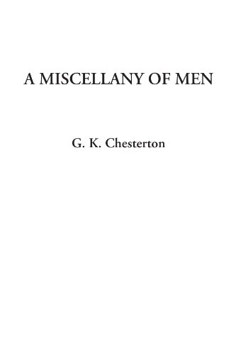 9781404319752: A Miscellany of Men