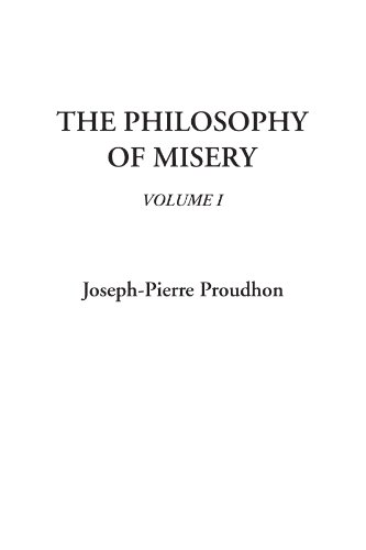 9781404324398: The Philosophy of Misery, V1