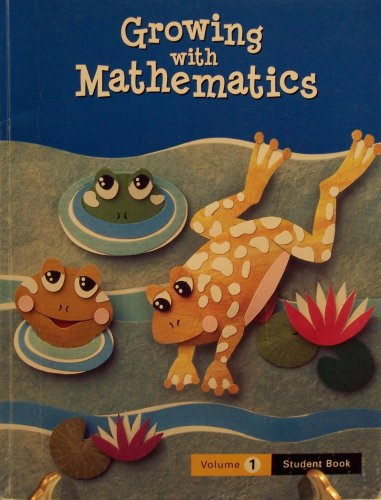 Growing with Math, Grade 2, Student Book 1 (1404513108) by McGraw-Hill Education