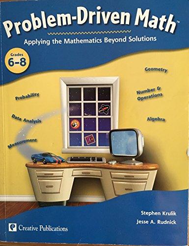 9781404526587: Problem Driven Math