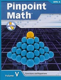 Functions and Equations (Level G) (Pinpoint Math,: Wright Group/McGraw-Hill