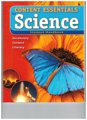 Content Essentials for Science- Student Handbook Level A: McGrawhill