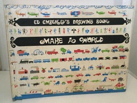 9781404612419: Ed Emberley's Drawing Book: Make a World