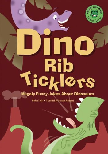 9781404801226: Dino Rib Ticklers: Hugely Funny Jokes About Dinosaurs (Read-It! Joke Books)