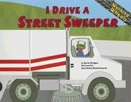 9781404819887: I Drive a Street Sweeper (Working Wheels)