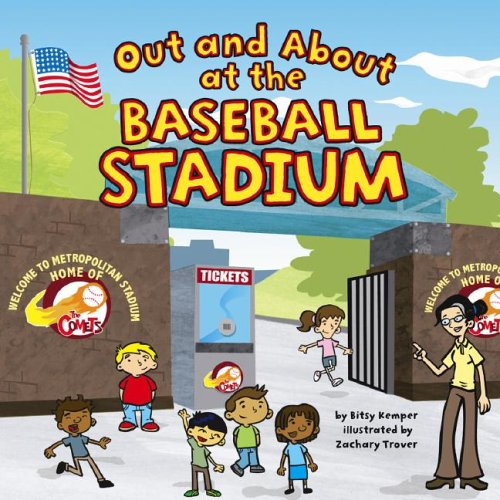 Out and About at the Baseball Stadium: Bitsy Kemper