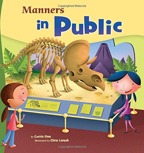 9781404835559: Manners in Public (Way To Be!: Manners)