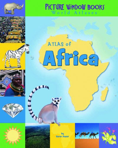 9781404838888: Atlas of Africa (Picture Window Books World Atlases)
