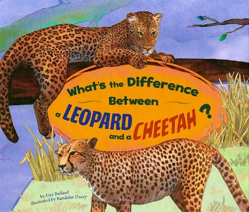 What's the Difference Between a Leopard and a Cheetah?: Bullard, Lisa