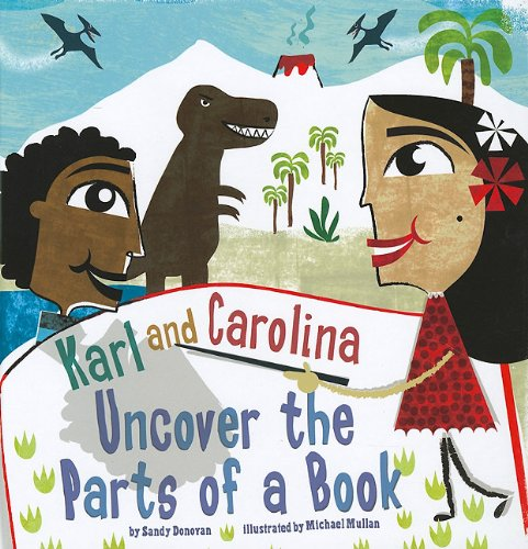 9781404857605: Karl and Carolina Uncover the Parts of a Book (In the Library)